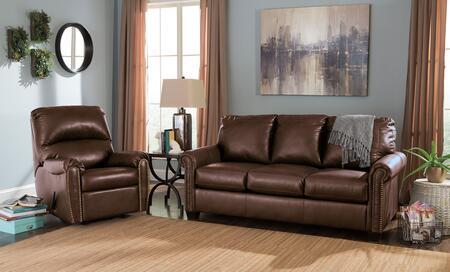 Milo Italia MI9272RRFSBCHOC Arabella Living Room Sets