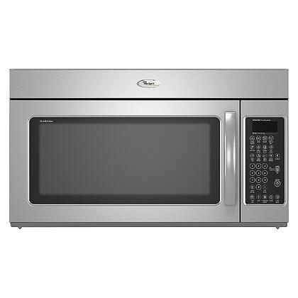Whirlpool GMH5205XVS 1.8 Cu. Ft Over the Range Microwave Oven with 300 CFM, 1100 Cooking Watts, in Stainless STeel