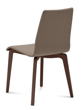 Domitalia JUDESLSFCHS7J Jude-L Chair with Chocolate Frame