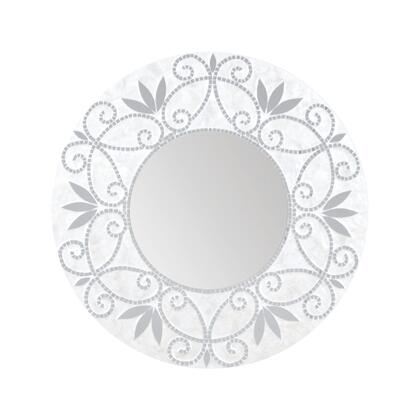 Sterling 7163077 Surrey Series Round Both Wall Mirror