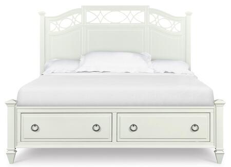 Magnussen B202977K2 Morgan Series  Calfornia King Size Storage Bed