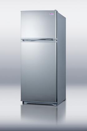 "Summit FF882SLV 23"" Freestanding Top Freezer Refrigerator"