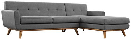 Modway EEI2119DORSET Engage Series Stationary Fabric Sofa