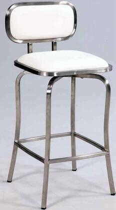 Chintaly 1192BSWHT  Bar Stool
