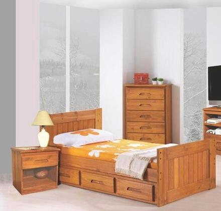 Donco 1030  Twin Size Platform Bed