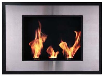 Bio Flame AVT3FCRIS Avante Series Vent Free Bioethanol Fireplace