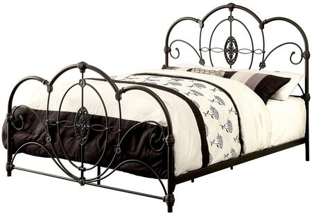 Furniture of America CM7709BKCK Jania Series  California King Size Bed