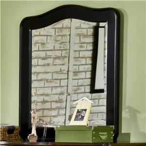 American Woodcrafters 5600030  Arched Portrait Dresser Mirror