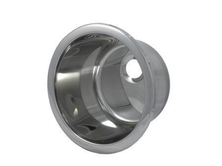 "Opella 14157. 15.4"" Diameter Drop-In Bar Sink, 18 Gauge, 2.5"" Drain Opening:"
