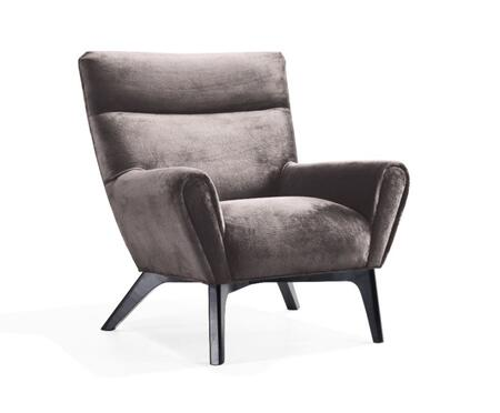 Armen Living LC1018CLGR Laguna Series  with Fabric Frame in Charcoal