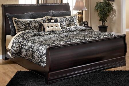 Milo Italia BR263656890 Ferrell Series  Queen Size Sleigh Bed