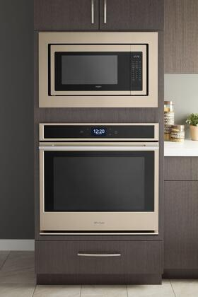 Whirlpool Sunset Bronze Shown With Matching Microwave Trim Kit