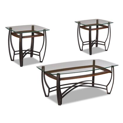 Jackson Furniture 8677 Contemporary Living Room Table Set