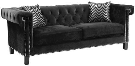 Coaster 505817 Reventlow Series  Velvet Sofa