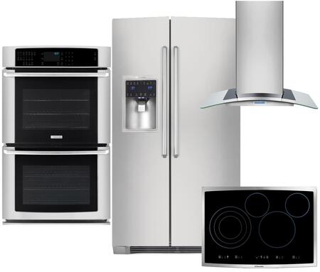 Electrolux 350404 IQ-Touch Side-By-Side Refrigerators