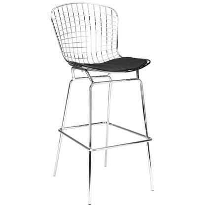 EdgeMod EM129BLK Morph Series Residential Bar Stool