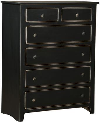 Chelsea Home Furniture 465126B Verdad Shaker Series Wood Chest