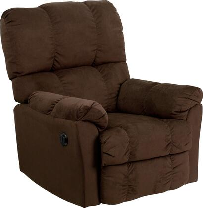 Flash Furniture AMP9320XXGG Contemporary Top Hat Microfiber Power Recliner