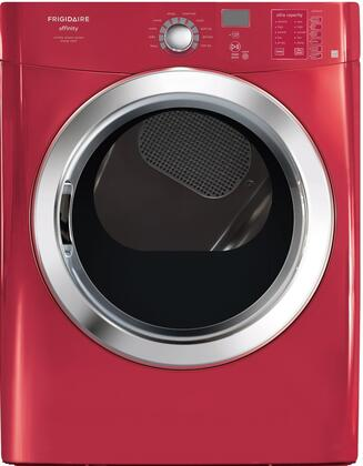 Frigidaire FAQG7072LR Affinity Series Gas Dryer, in Red