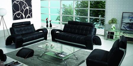 VIG Furniture VGBNB201 Modern Leather Living Room Set