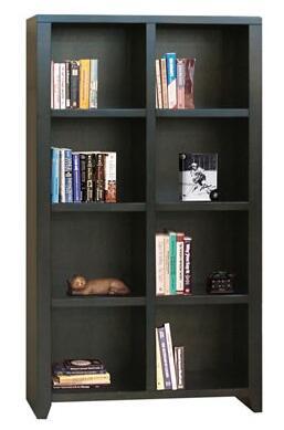Legends Furniture UL6202MOC Urban Loft Series Wood 4 Shelves Bookcase