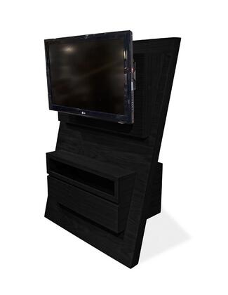 Armen Living LCASTVX Aspen TV Stand with Two Coma part Storage Space That Feature Open-pore Ash Veneer in