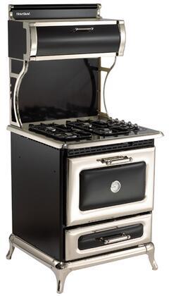 "Heartland 920000PBLK 30"" Classic Series Gas Freestanding"