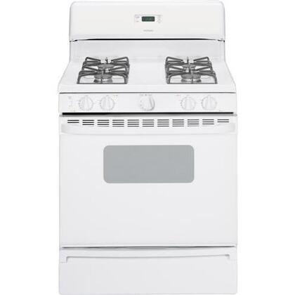 "Hotpoint RGB530DETWW 30"" Gas Freestanding 