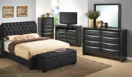 Glory Furniture G1500CTBUPDMB G1500 Twin Bedroom Sets