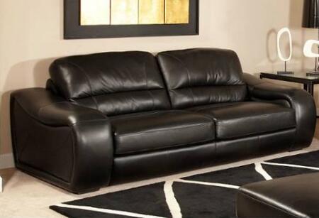 Novo Home 10263S Soho Series Stationary Leather Sofa