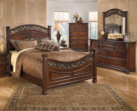 Milo Italia BR590KPBDMC Villegas King Bedroom Sets