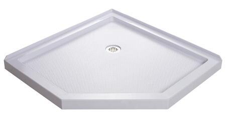 DreamLine DLT20 SlimLine Neo Low-Profile Shower Base with Fiberglass Reinforcement and Slip-Resistant Bottom