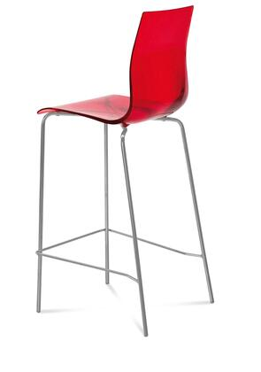 Domitalia GELASSG15SRO Gel Series Residential Not Upholstered Bar Stool