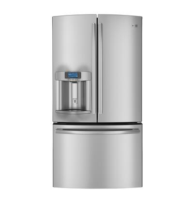 GE Profile PFE29PSDSS Profile Series  French Door Refrigerator with 28.6 cu. ft. Total Capacity 5 Glass Shelves |Appliances Connection