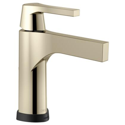 Zura  574T-PN-DST Delta Zura: Single Handle Centerset Lavatory Faucet with Touch2O.xt Technology in Polished Nickel
