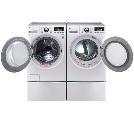 LG 342240 TurboWash Washer and Dryer Combos