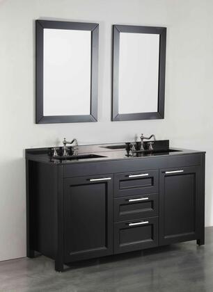 """Bosconi SB267X 60"""" Double Vanity"""