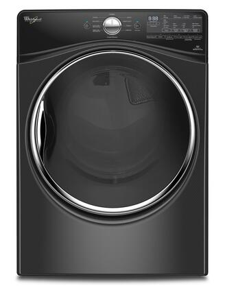 """Whirlpool WGD92HEF 27"""" Front Load Gas Dryer with 77.4 Cu. Ft. Capacity, 10 Dry Cycles, 5 Temperature Settings, Stainless Steel Drum and Static Reduce Option:"""