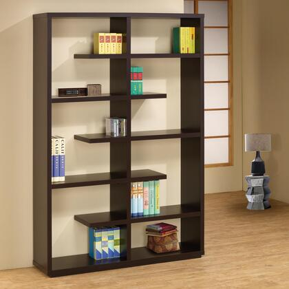 Coaster 800297Bookcases Series  7 Shelves Bookcase