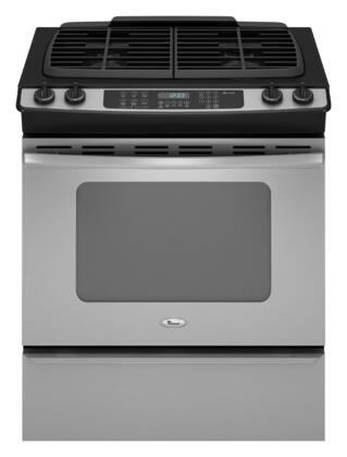 Whirlpool GW399LXUS Gold Series Slide-in Gas Range with Sealed Burner Cooktop Storage 4.5 cu. ft. Primary Oven Capacity