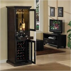 "Tresanti DC1093O1071823 23.00"" Wine Cooler, in Empire Cherry,Espresso,Premium Oak"