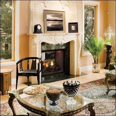 Majestic KSTDV500PTSC Covington Series Direct Vent Propane Gas Fireplace