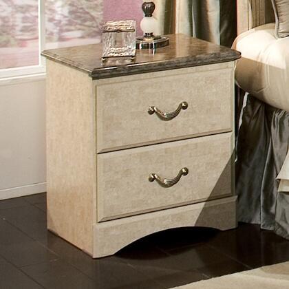 Standard Furniture 59507 Florence Series Rectangular Wood Night Stand