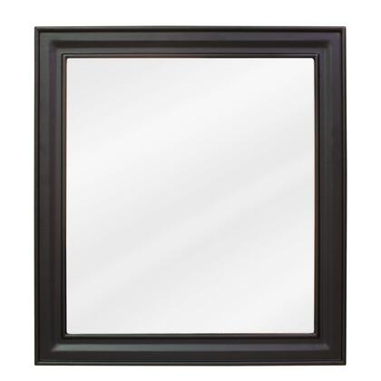 Bath Elements MIR049 Jensen Series Rectangular Portrait Bathroom Mirror