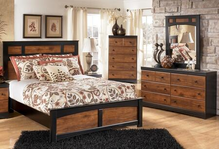 Milo Italia BR216QPBDMC Tucker Queen Bedroom Sets