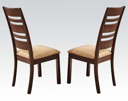 Acme Furniture 00852 Everest Series Transitional Fabric Wood Frame Dining Room Chair