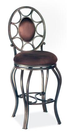 Chintaly 0727XXAUT Memory Return Swivel Stool
