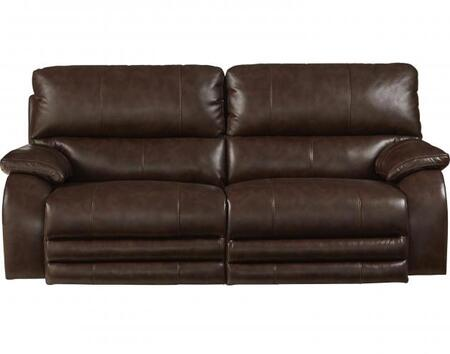 Catnapper 764271115259125259 Sheridan Series  Faux Leather Sofa