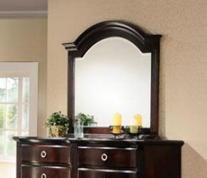 Yuan Tai RE1206M Reva Series Arched Portrait Dresser Mirror