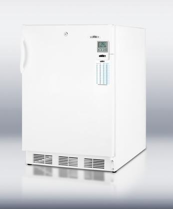 Summit CT66LMEDADA MEDADA Series Compact Refrigerator with 5.1 cu.ft. Capacity in White